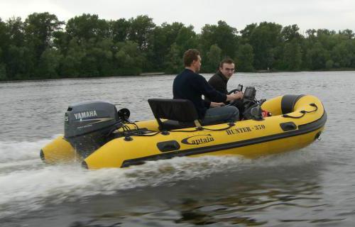 какие моторы на надувные лодки